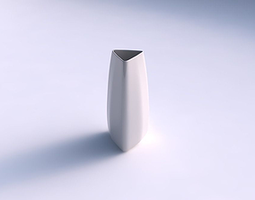 Vase triangle smooth 3D printable model