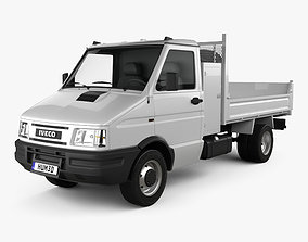 3D Iveco Daily Single Cab Tipper 1996