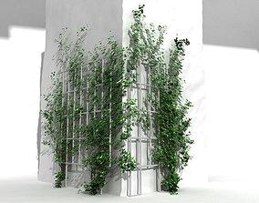 ivy corner 3D model