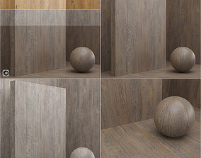 Materials seamless wood veneer slab 3D