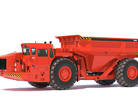 Sandvik underground truck TORO 50 3D model