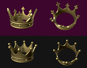 Crown Collection Two crowns 3D