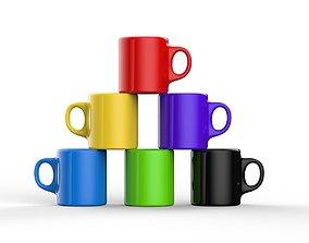 blank mug mockup 3D model