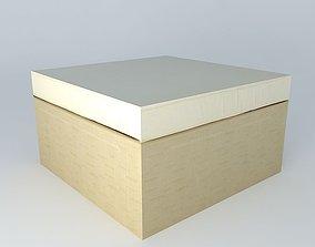 Pouf IBIZA beige houses the world 3D model