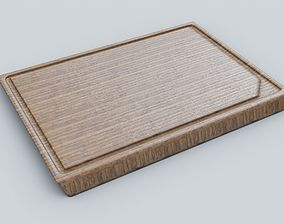 3D model ikea cutting board 4K Textures UV Mapping 1