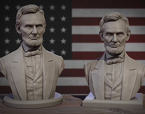 3D printable model Abraham Lincoln