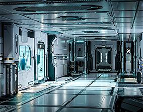 PBR 26 Sci-Fi 3D models - Interior Asset Pack