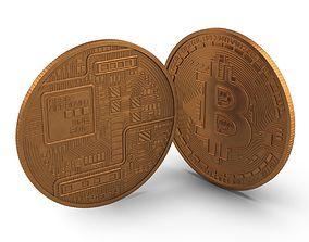 net Bitcoin 3D model