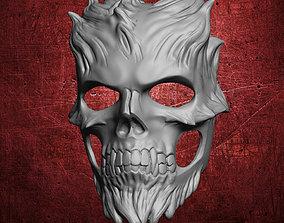 3D print model Demon Skull Mask