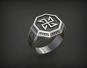 3D printable model 02 Slavianic Ring - Solon