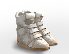 Wedge Sports Boots 3D asset