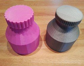 Small Flasks 3D printable model