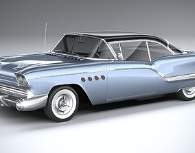 3D Generic American Car 1958