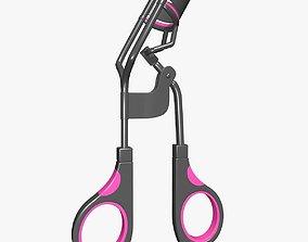 3D Manual Eyelash Curler Black and Pink