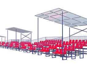 Stadium Seating Tribune pack 3D