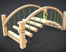 Bridge - Playset 1 3D asset VR / AR ready