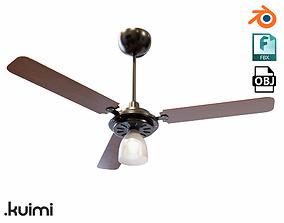 3D Ceiling Fan 008