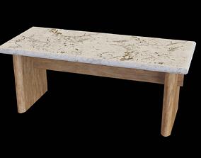 3D model Table marble v-02