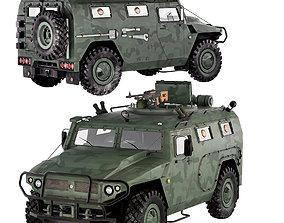3D model Gaz Tiger M 23115