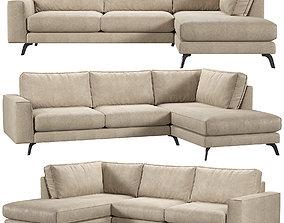 3D Athena CornerKaza do sofa
