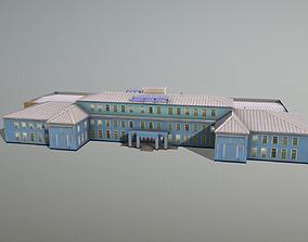 Airport Terminal UIII Old Terminal 3D asset