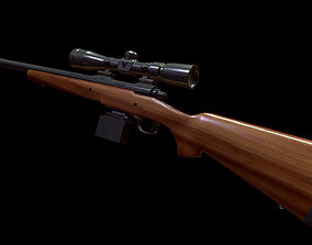 Remington 700 3D model
