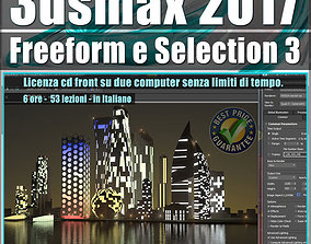 020 3ds max 2017 Freeform e Selection vol 20 cd