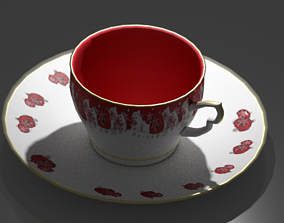 Teacup Set 3D asset