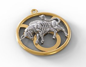 bull Taurus constellation 3D print model