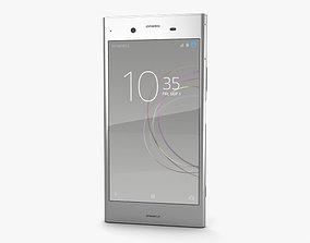 3D sim Sony Xperia XZ1 Warm Silver