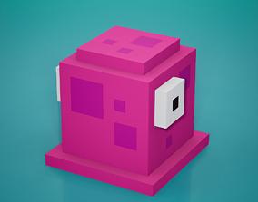 Voxel - Purple Goo 3D asset