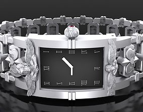 Classic Watch with Angels 3D print model