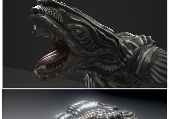 Alien Animal Design