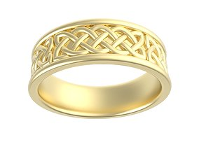Celtic Knot Ladies Band 3D print model