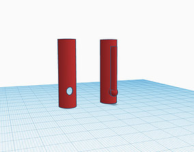 Apple Pencil Clip and Grip 3D printable model