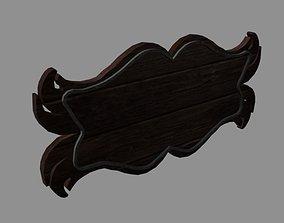 3D model Medieval decorative wall plaque
