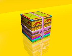Gift Box 01 3D model