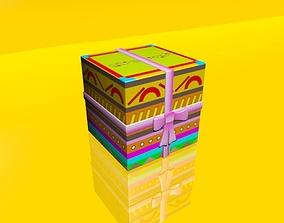 3D model Gift Box 01