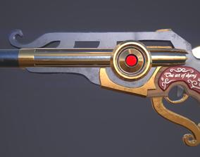 3D model Fantasy pistol