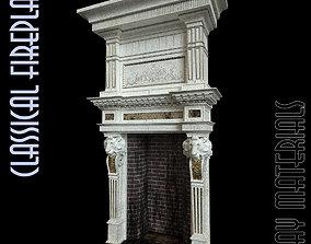 texture Fireplace 3D