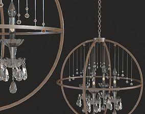 Kare Pendant Lamp Gioiello Orbit 3D