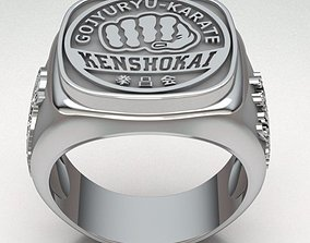 3D print model ring-gold Ring Man