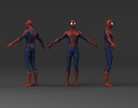Spider man low poly 3d models HD game-ready