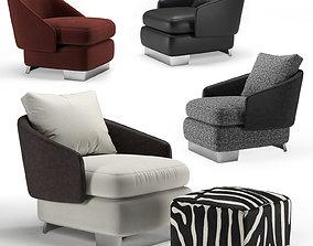 armchair lawson 3D