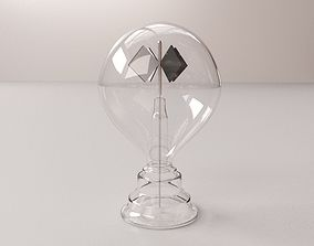 Crookes Radiometer 3D model