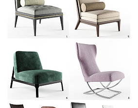 realtime Lounge Chair Set - 8 models