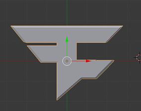3D Faze Symbol