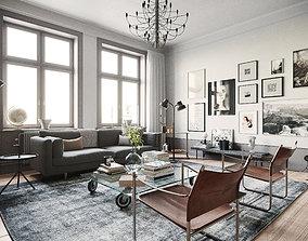 Stockholm Interior scene 3D model