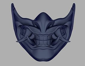 Sub Zero Samurai mask from Mortal Kombat 11 3D print model