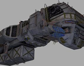 Morena smuggler ship 3D model
